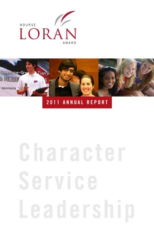 582e5be94e0 2011 Loran Scholars Annual Report by Jesse Helmer - issuu
