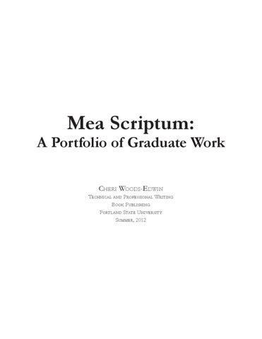 mea scriptum by cheri woods edwin issuu