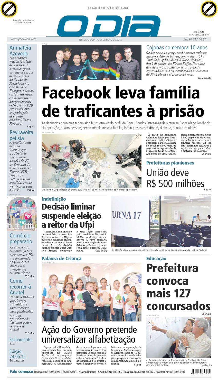 6d14b033db8bb JORNAL O DIA by Jornal O Dia - issuu
