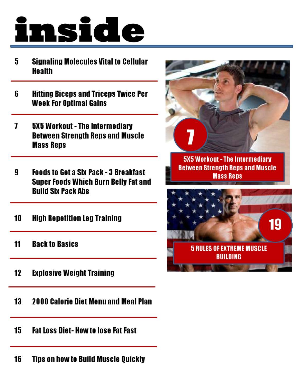 FitnessTrainerDarren eMagazine by Darren Jones - issuu