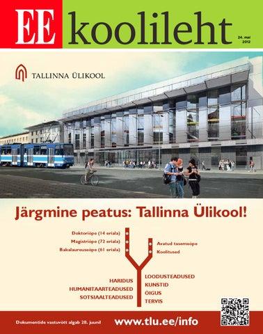 c7577c91d63 Koolileht (24.05.2012) by AS Ekspress Meedia - issuu