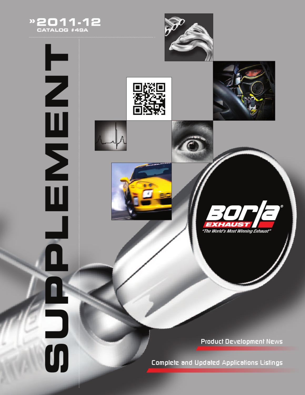 Borla Exhaust Pipes X-Pipe for 97-03 Chevrolet Corvette C5 Z06 5.7L V8