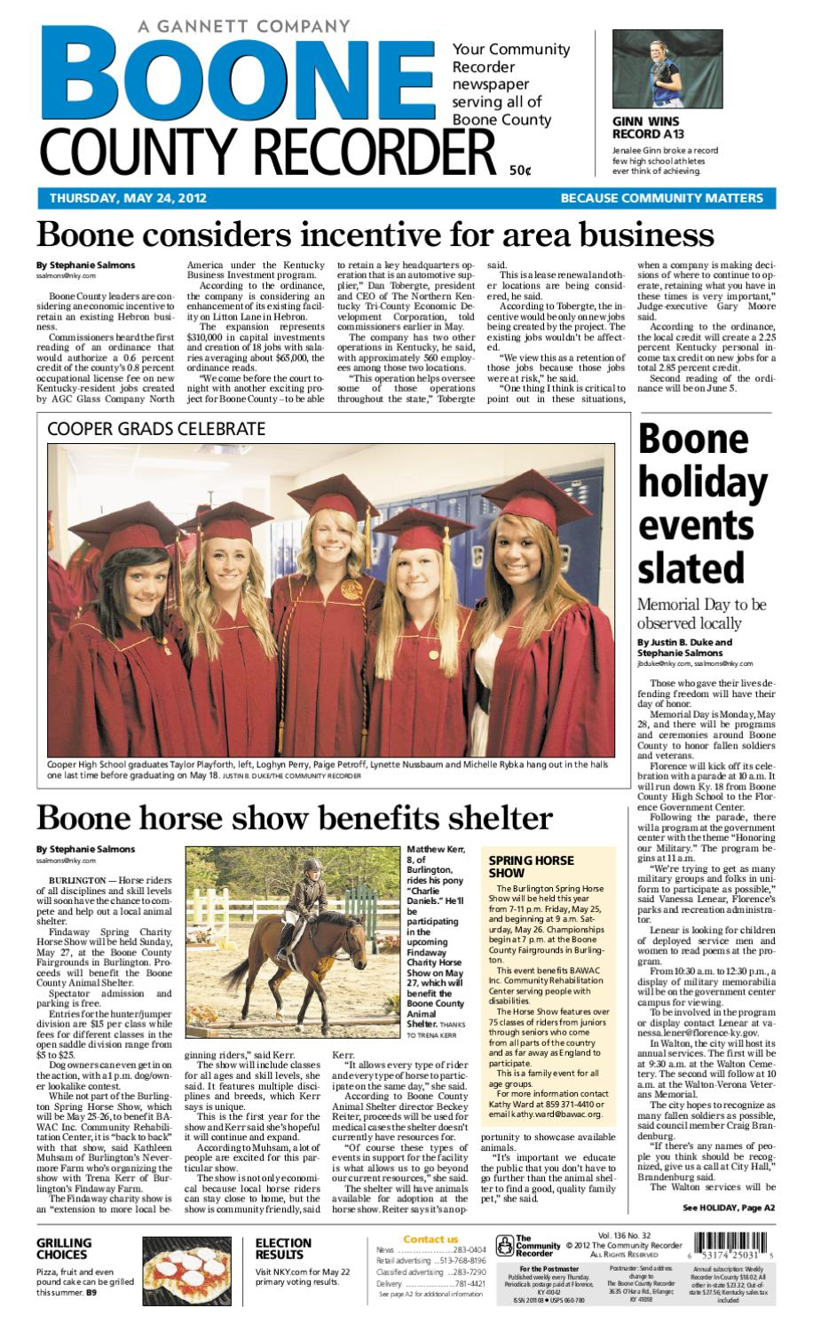 boone-county-recorder-052412 by Enquirer Media - issuu
