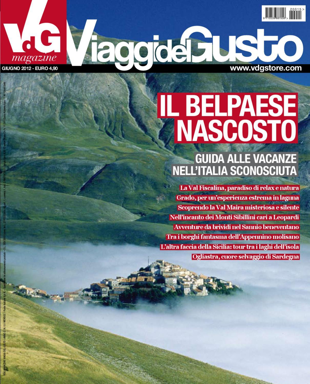 VdG Viaggi del Gusto Magazine Giugno 2012 by vdgmagazine - issuu bd7ee7551a0