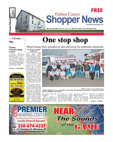 Holmes County Shopper May 24 2012 By Gatehouse Media Neo