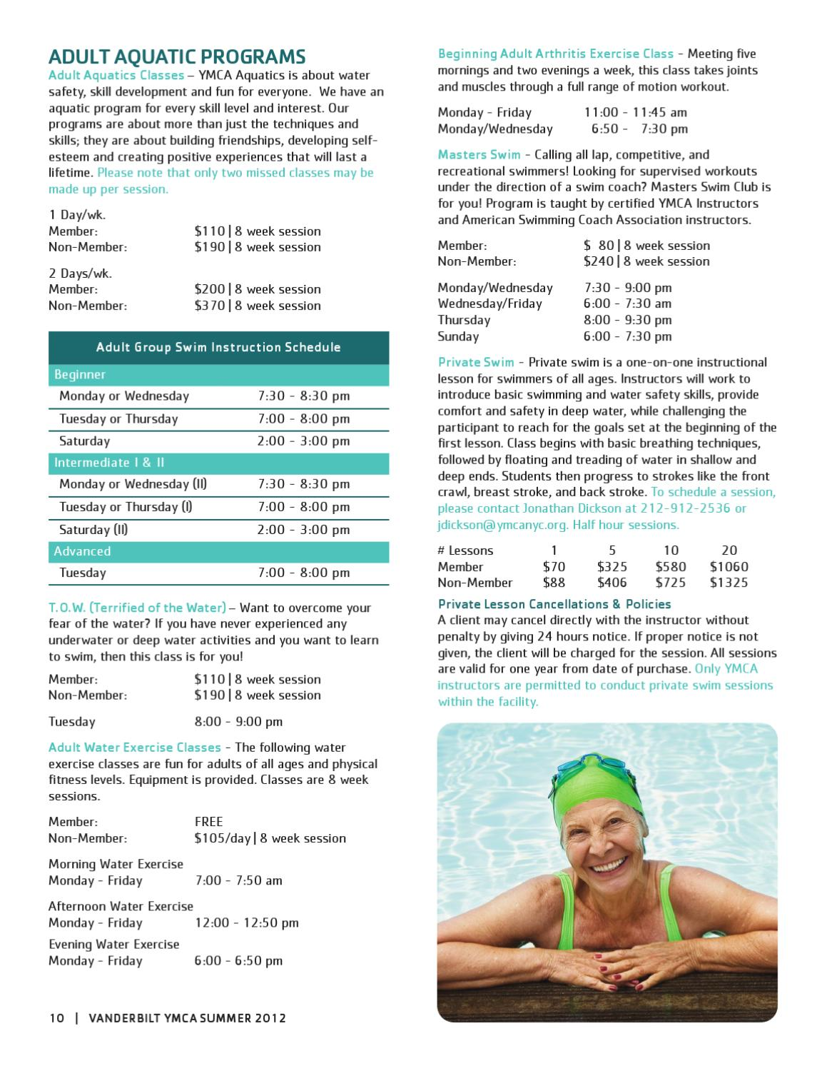 vanderbilt y summer 2012 program guide by new york city's ymca - issuu