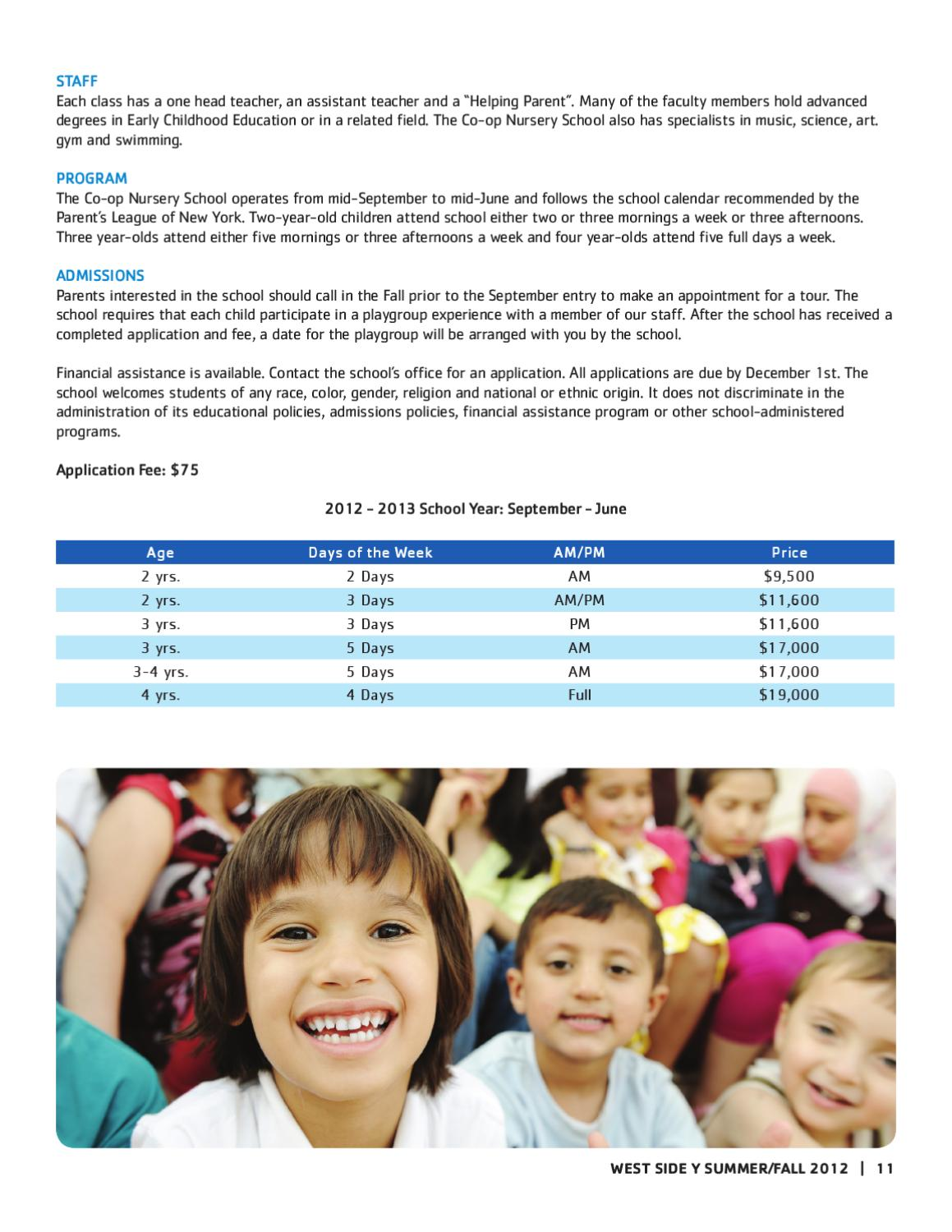 West Side Youth And Family Program Guide By New York Citys Ymca Issuu
