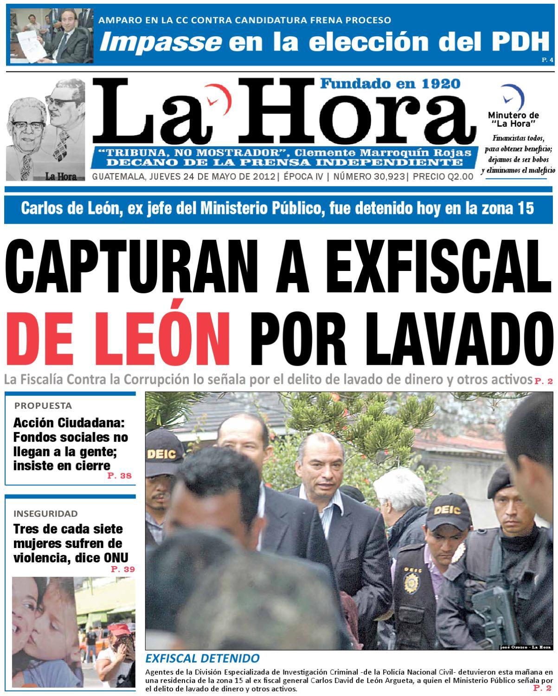 Diario La Hora 24-05-2012 by La Hora - issuu