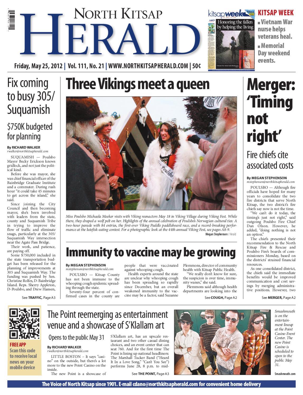 North Kitsap Herald, May 25, 2012 by Sound Publishing - issuu