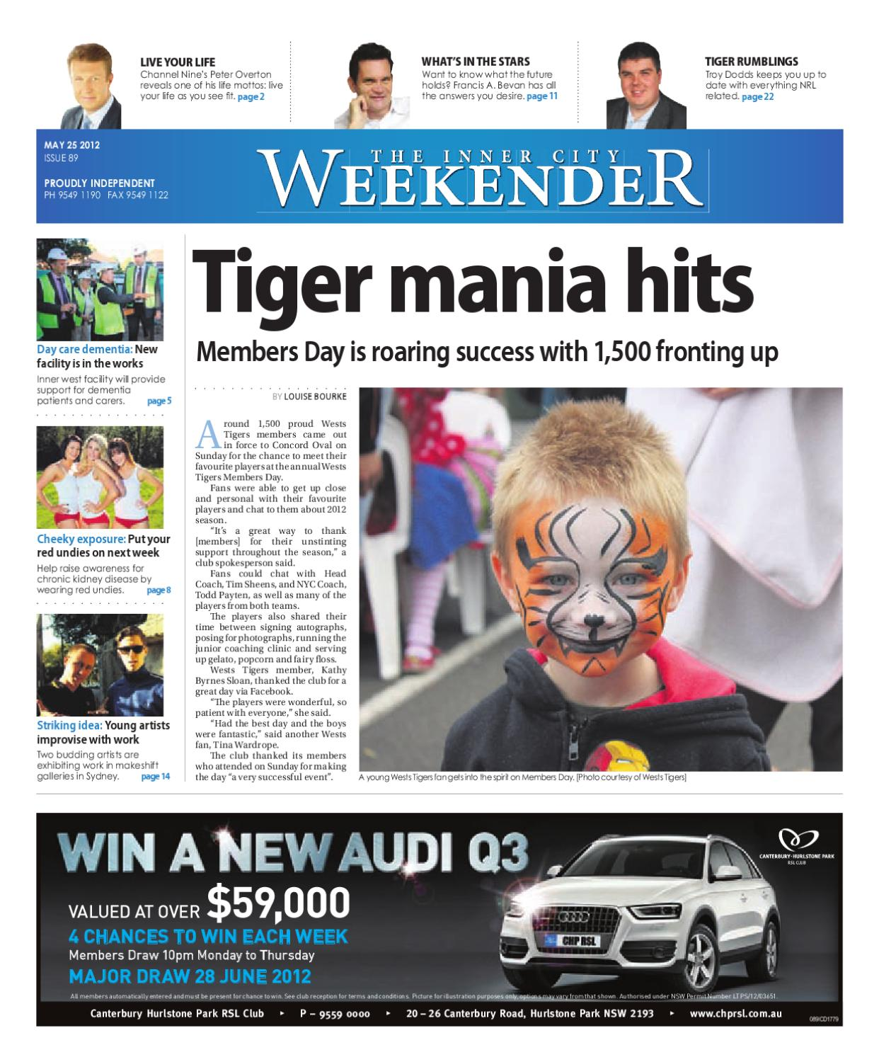 The Inner City Weekender by Western Sydney Publishing Group