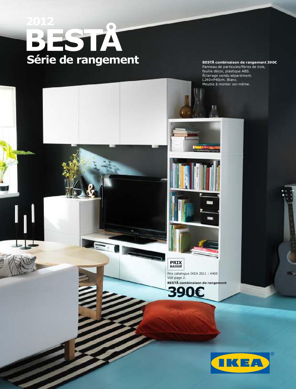 Meuble Ikea Besta Blanc range_brochure_besta_2012karim bennaceur - issuu