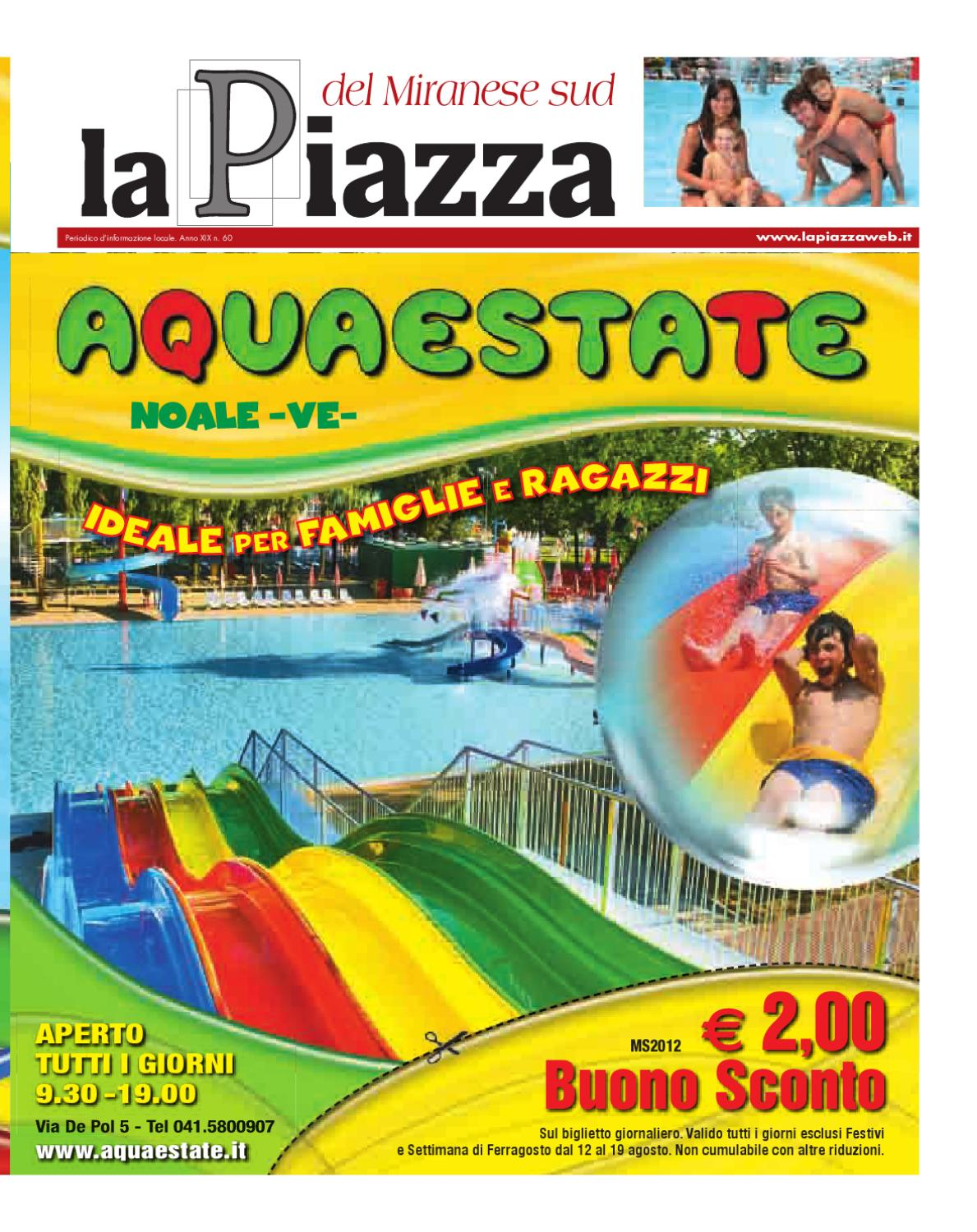 La Piazza Del Miranese Sud 2012mag N60 By Lapiazza Give