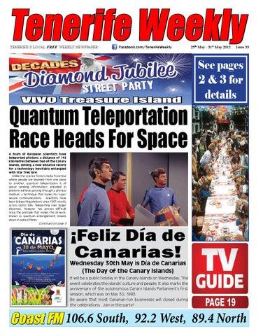 Tenerife Weekly Issue 33 by Tenerife Weekly - issuu a49704c4495