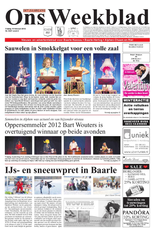 b8a16b2017f Ons Weekblad 10-02-2012 by Uitgeverij Em de Jong - issuu