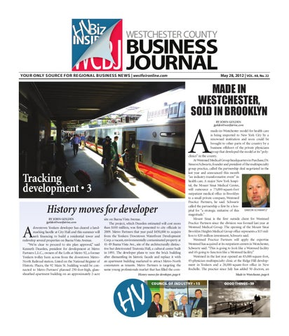 f3a9c699b25fa Westchester County Business Journal HV Biz – 05 28 12 issue by Wag ...