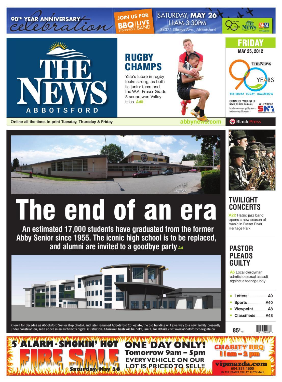 Abbotsford News, May 25, 2012