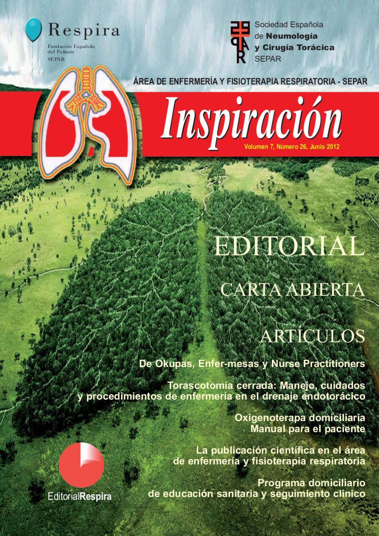 Revista del Área de Enfermería y Fisioterapia Respiratoria de SEPAR ...
