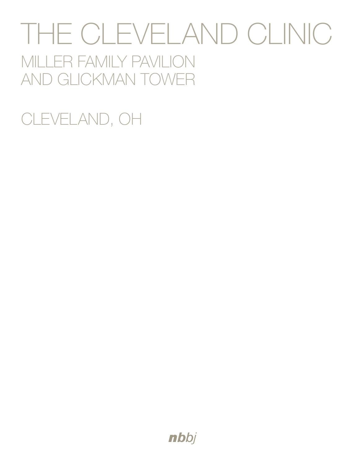 The Cleveland Clinic, Miller Family Pavilion and Glickman