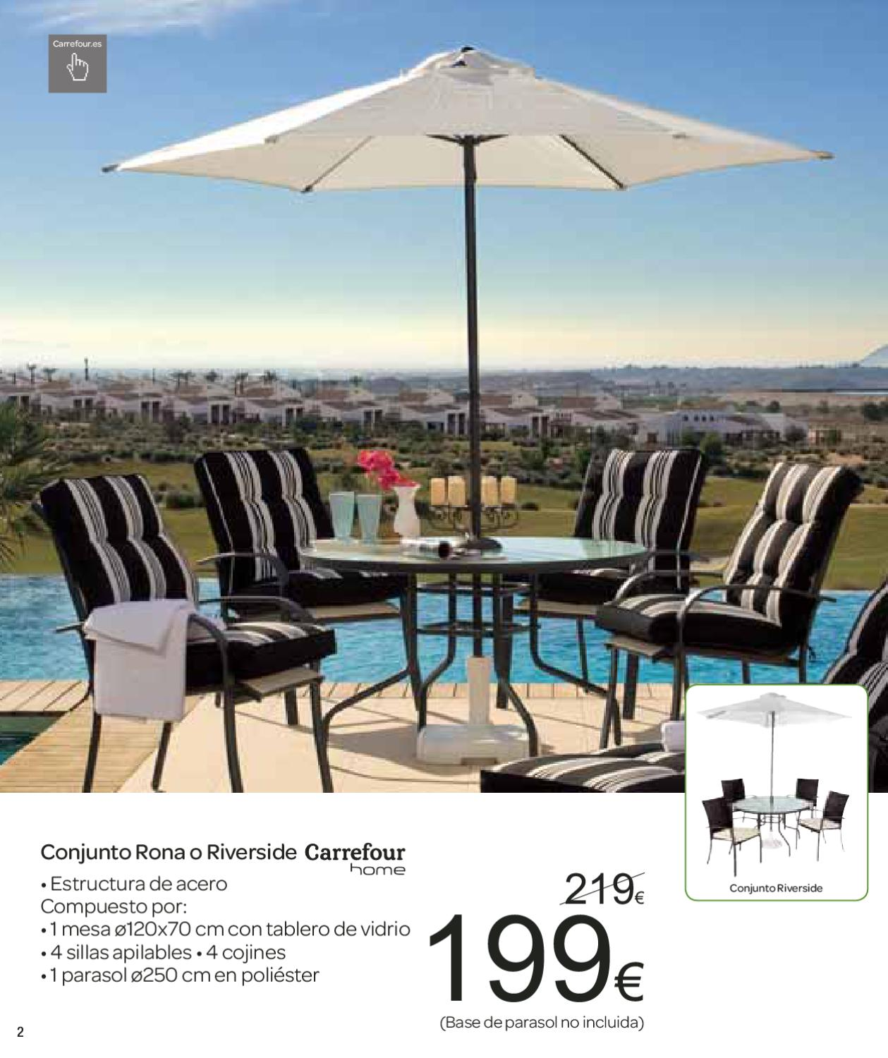 Sillas apilables carrefour with sillas apilables for Piscinas alcampo online