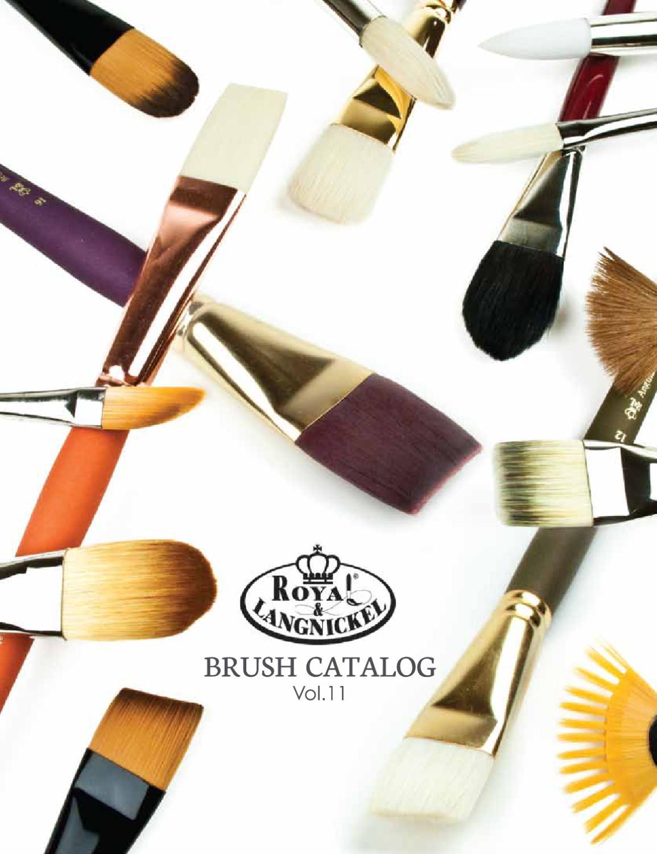 Royal /& Langnickel R4100B-12 Best Majestic Taklon Acrylic and Oil Brush Bright 12