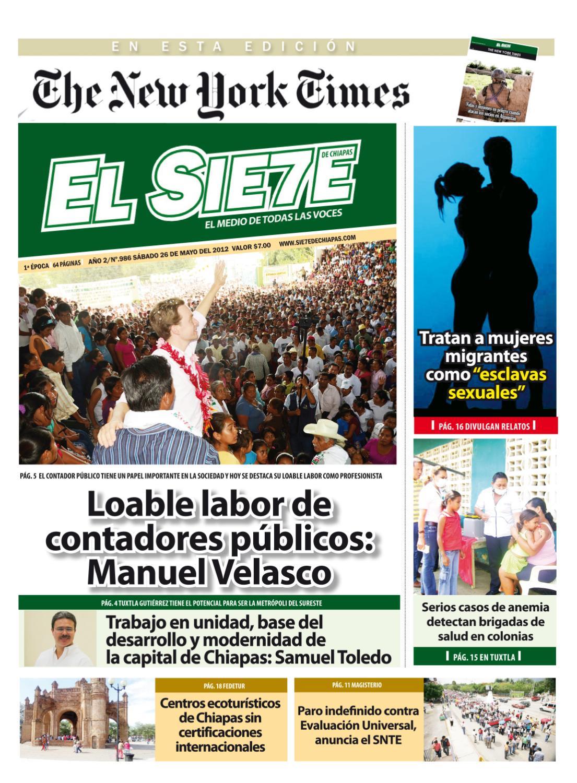 26 05 2012 by El Sie7e de Chiapas - issuu a40171386db