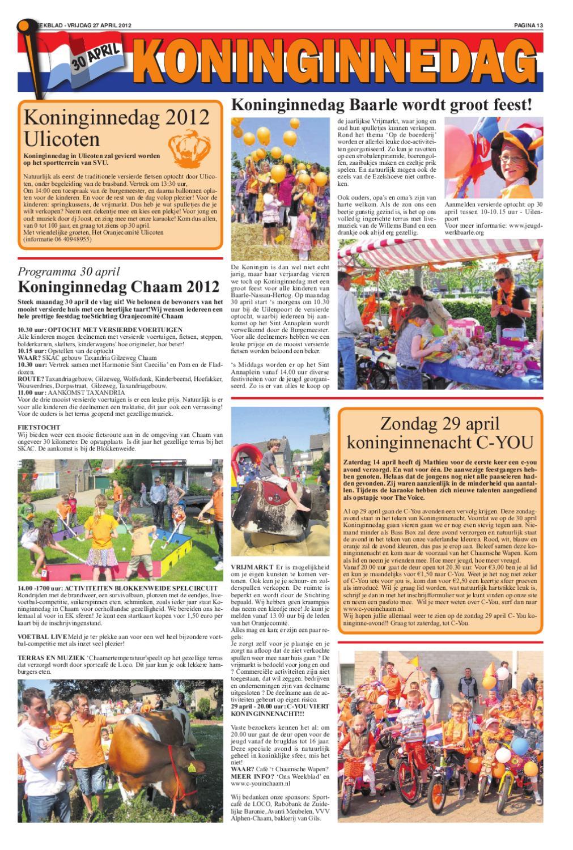 Ons Weekblad 27 04 2012 By Uitgeverij Em De Jong Issuu