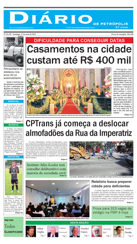 diariodepetropolis by Diário de Petrópolis - issuu 3d084625622dd