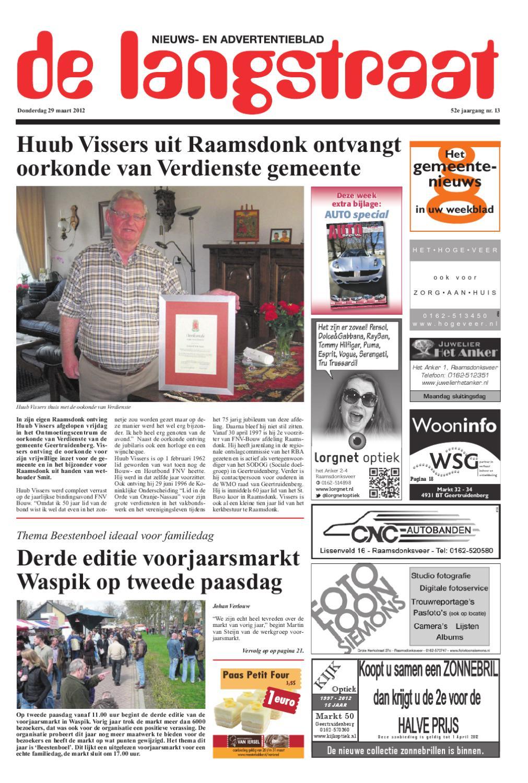 De langstraat 29 03 2012 by uitgeverij em de jong issuu for Nassau indus deur bv oosterhout