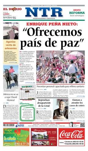 0b3350e9e9cf6 El Diario NTR by NTR Medios de Comunicación - issuu