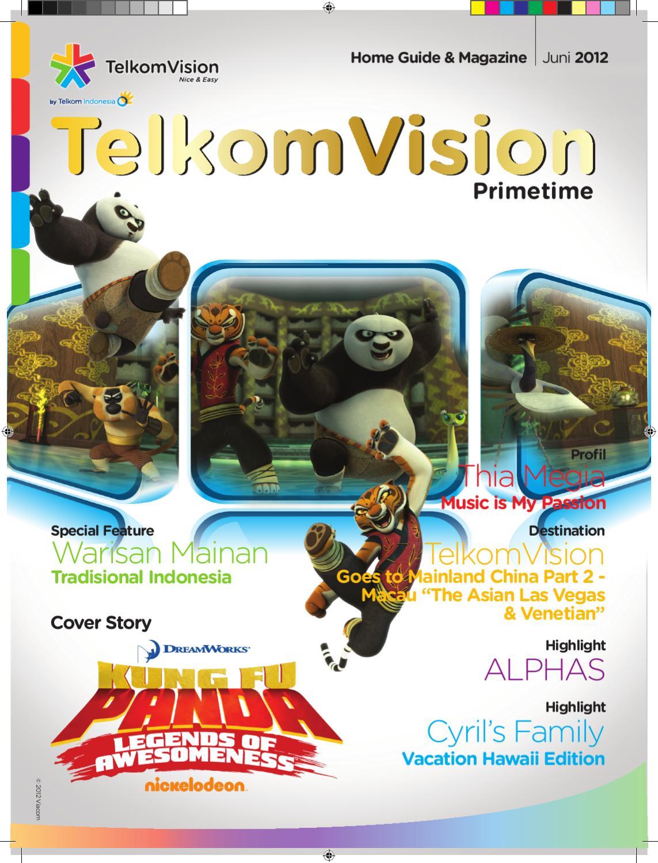 Juni 2012 Prime Time TelkomVision By Indonusa Telemedia