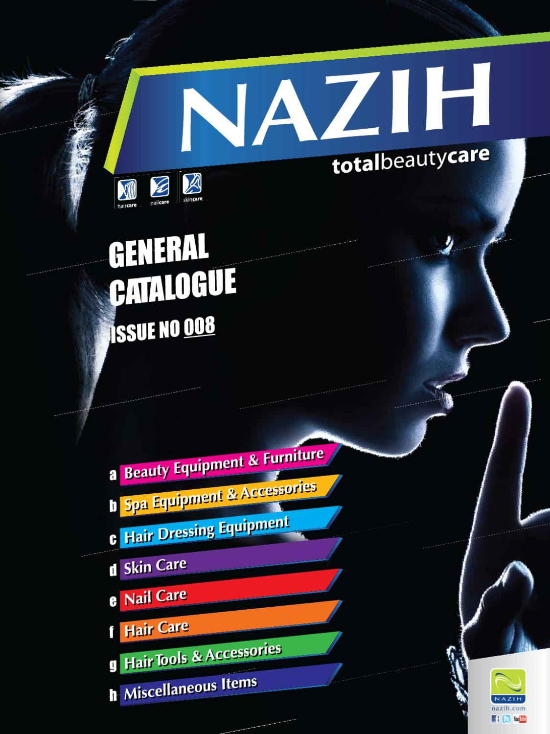 137304b2a Nazih Catalogue 2012 by Nazih Cosmetics - issuu