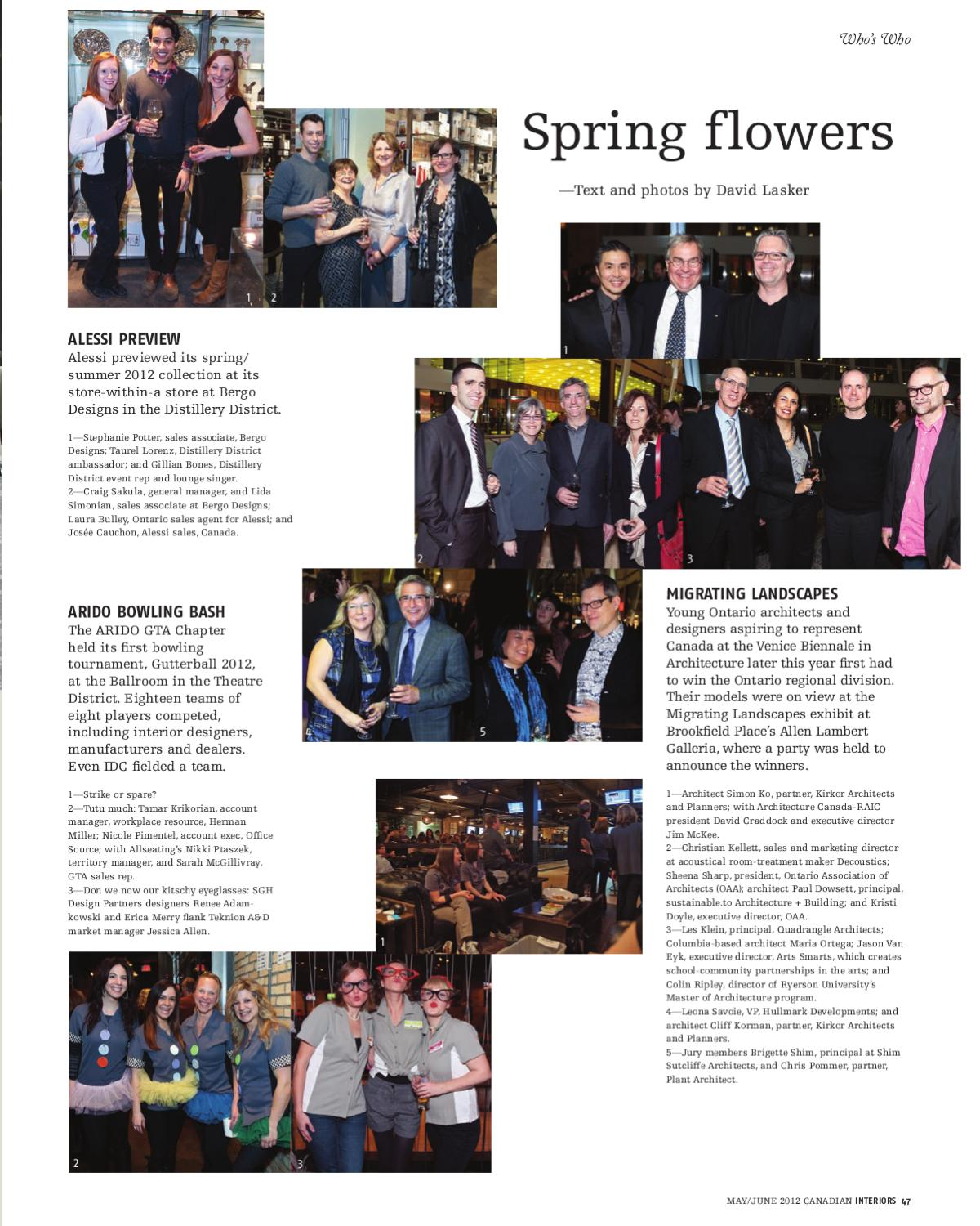 Canadian Interiors May June 2012 By Annex Business Media Issuu