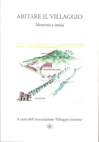 ABITARE IL VILLAGGIO - memoria e storia by Gianguido Forelli - issuu 112bdb6d506