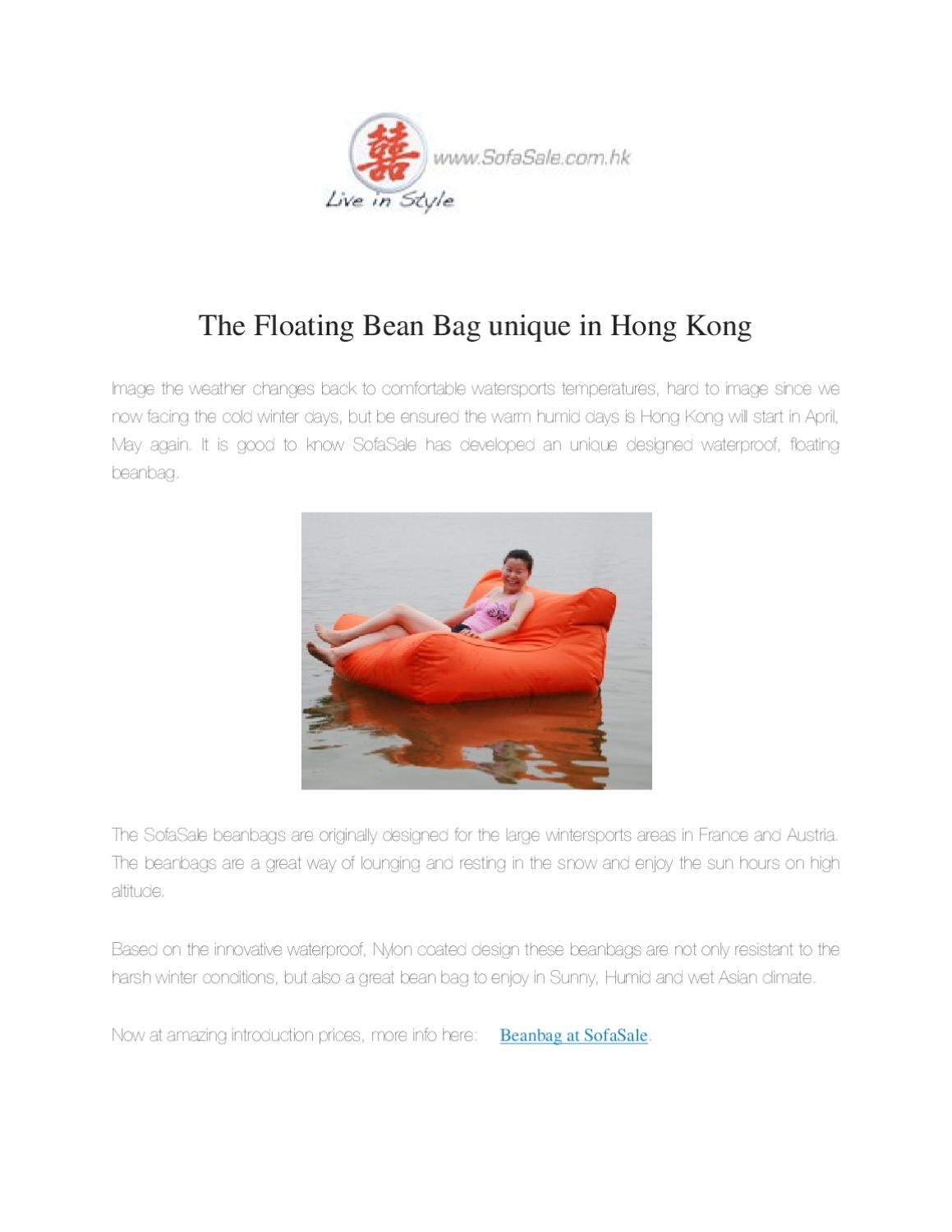 Astonishing Sofasale Floating Bean Bag Unique In Hong Kong By Prawesh Pdpeps Interior Chair Design Pdpepsorg