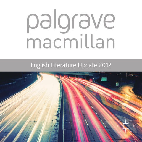 English literature update 2012 by macmillan international higher page 1 fandeluxe Gallery