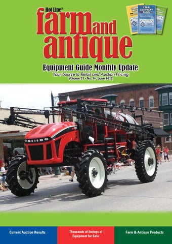 Farm & Antique Equipment Guide by Heartland Communications Group - issuu