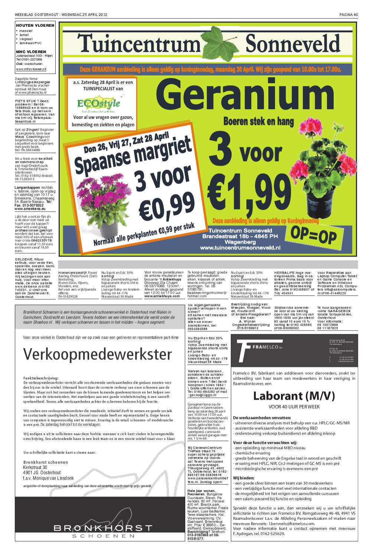 Internetwinkel Kleding.Weekblad Oosterhout B 25 04 2012 By Uitgeverij Em De Jong Issuu