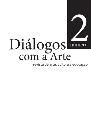 Dilogos com a arte n2 2011 by imprio do livro issuu page 1 fandeluxe Image collections