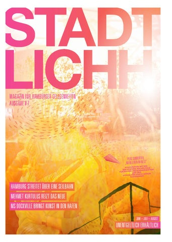 STADTLICHH #07 By STADTLICHH Magazin   Issuu