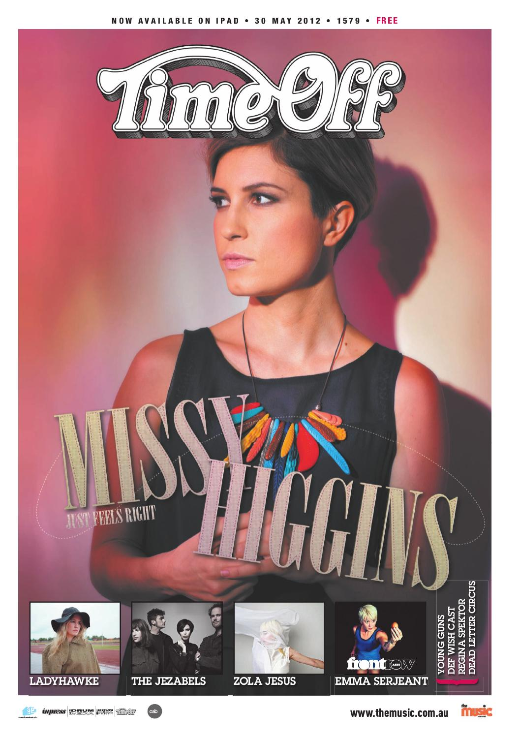 Time Off Issue 1579 by TheMusic com au - issuu