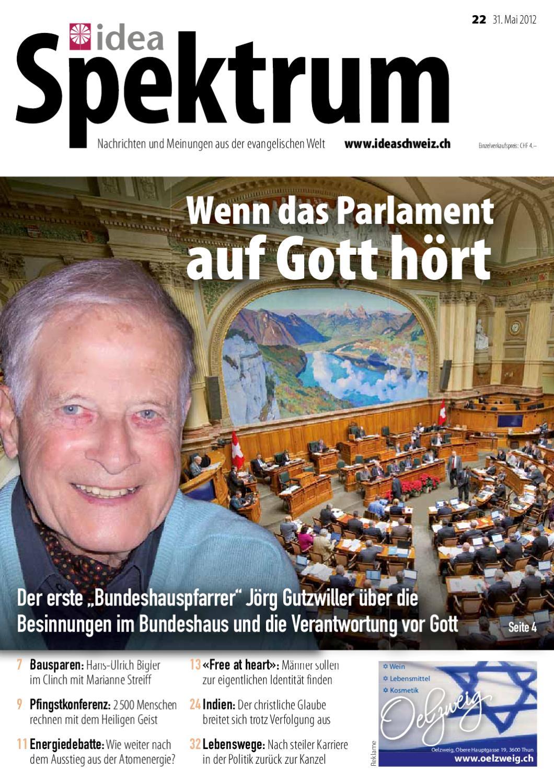 Idea Spektrum Schweiz 22/2012 by Jordi AG – das Medienhaus - issuu