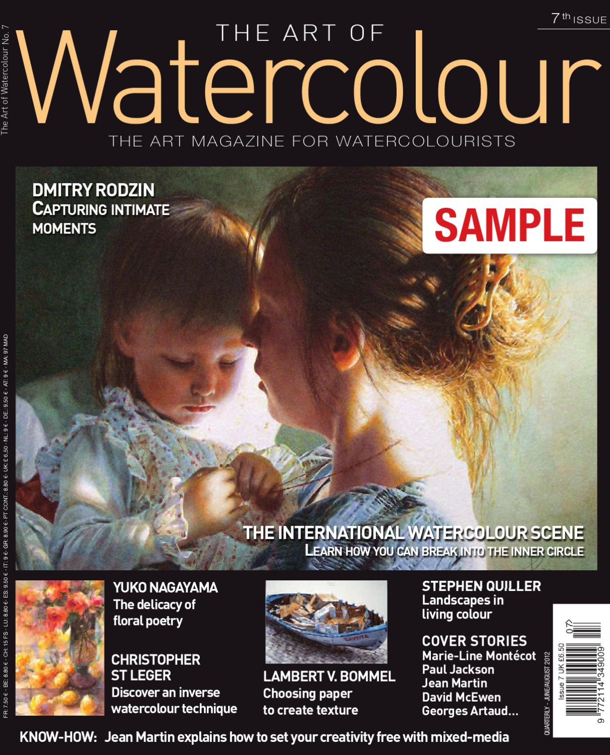 Watercolor artist magazine subscription - Watercolor Artist Magazine Subscription 33