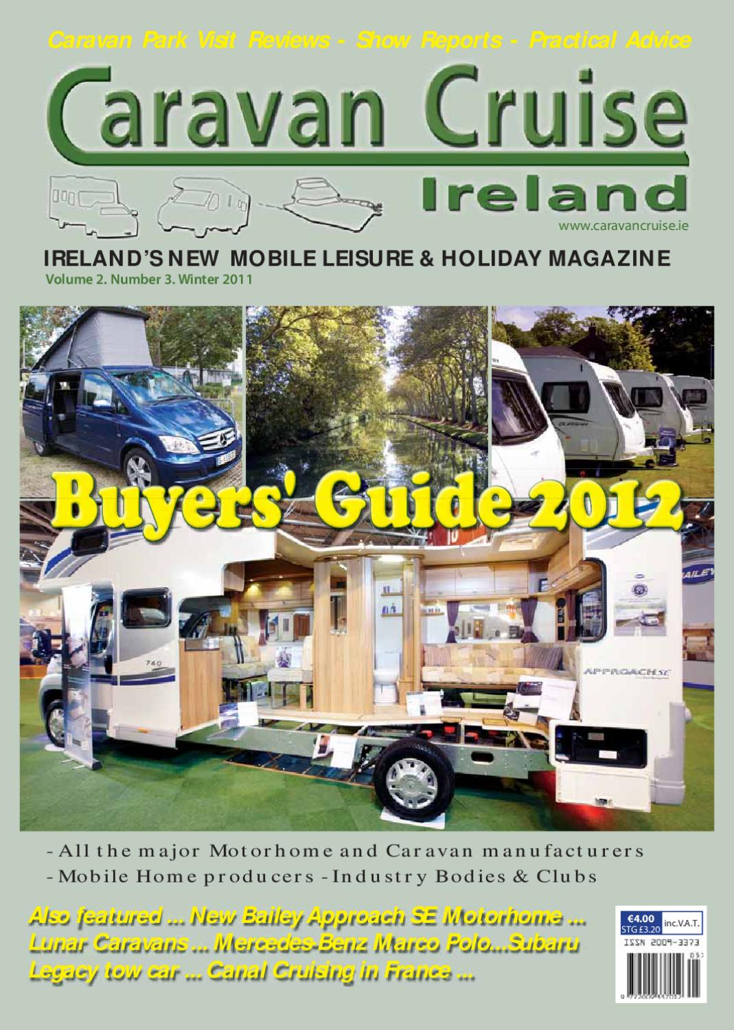 caravan cruise ireland buyers guide by orla sweeney issuu rh issuu com On the Road RV RV Tips