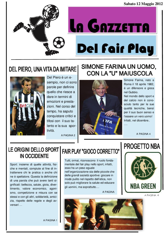 definizione di fair play