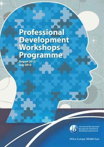 IB AEM Programme of Professional Development workshops 2012