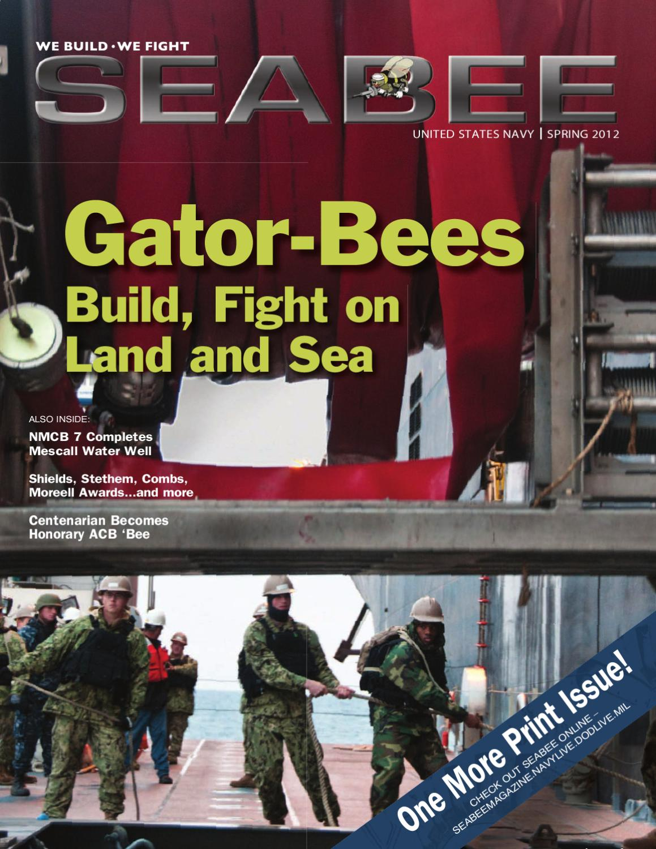 Seabee Magazine - Spring 2012 by NAVFAC HQ - issuu