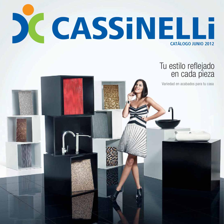 Tu estilo reflejado en cada pieza by cassinelli issuu - Modelos de grifos ...
