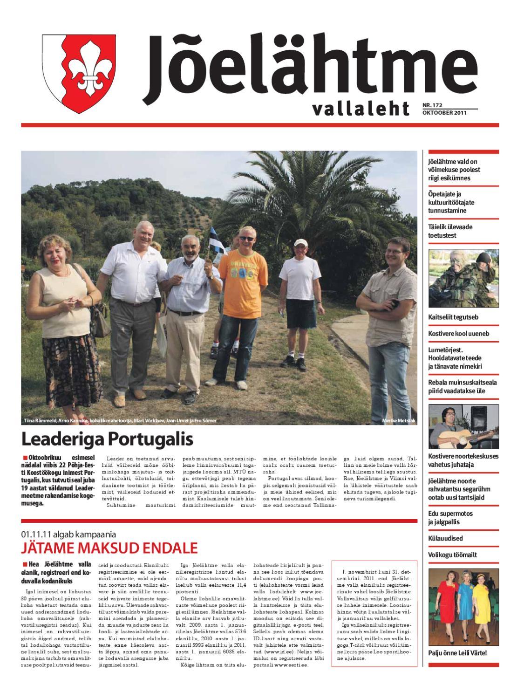 23d95a0e835 2011.10 Jõelähtme vallaleht oktoober by otse.info - issuu