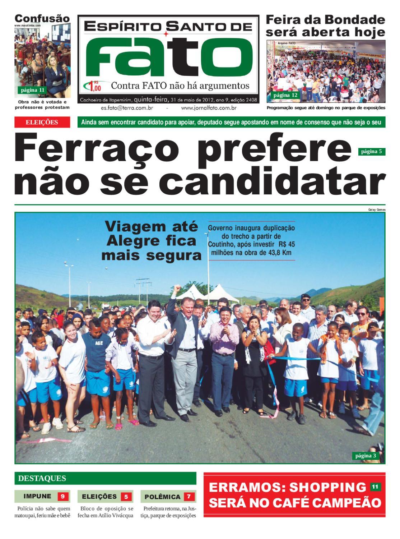 Edição 2.408 by Jornal Fato - issuu 9cd3216729b40