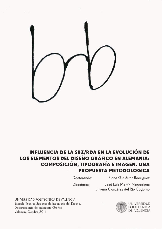Influencia De La Rda En El Dise O Gr Fico Alem N By Elena  ~ Escuela Superior De Diseño De Valencia